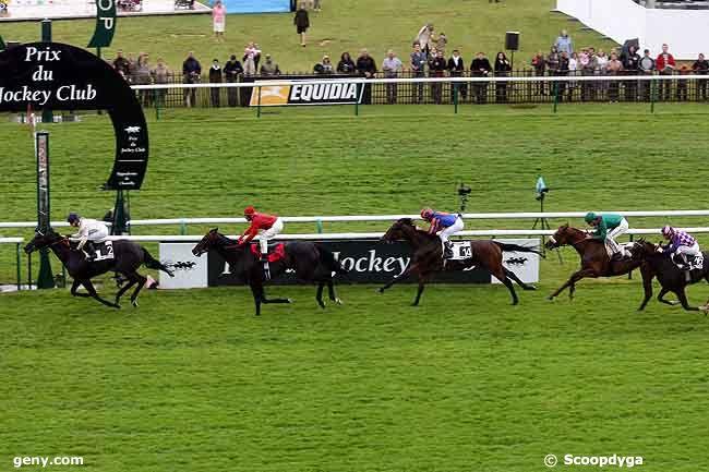 07/06/2009 - Chantilly - Prix du Jockey Club : Arrivée