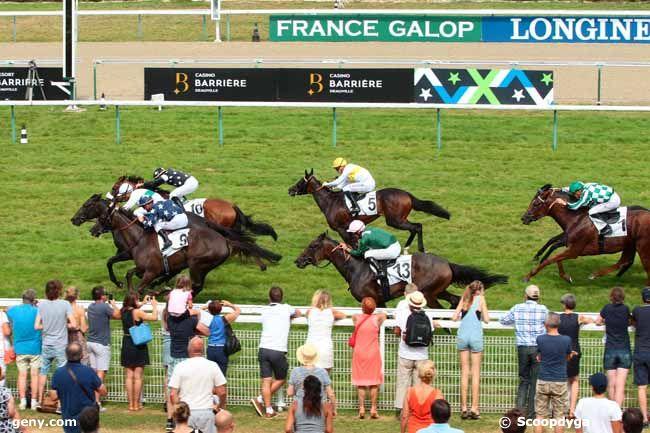 27/08/2016 - Deauville - Prix de Franceville : Arrivée