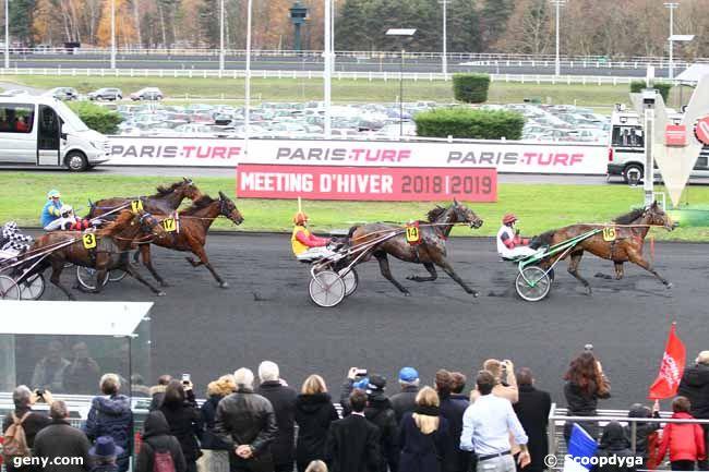 02/12/2018 - Vincennes - Finale du Grand National du Trot Paris-Turf : Arrivée