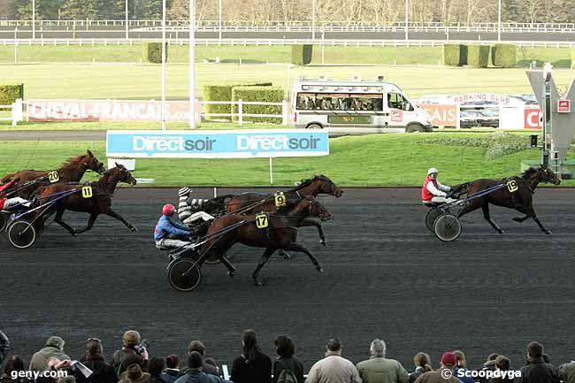 26/12/2009 - Vincennes - Prix de Strasbourg : Arrivée