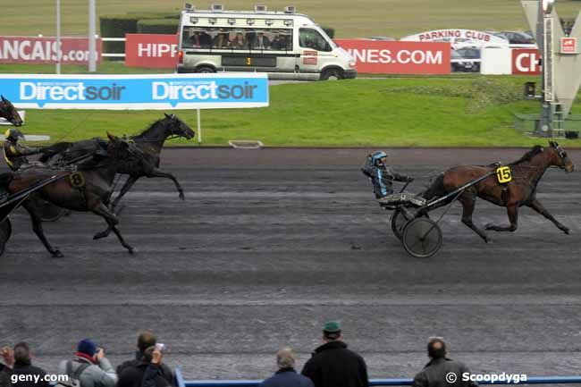 16/01/2010 - Vincennes - Prix du Forez : Arrivée