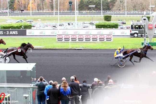 02/12/2018 - Vincennes - Le Trot Open des Régions - 3 Ans : Arrivée
