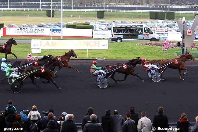 07/02/2010 - Vincennes - Prix de Champtoce : Arrivée