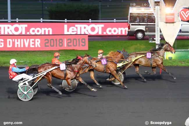 11/01/2019 - Vincennes - Prix de Marvejols : Arrivée