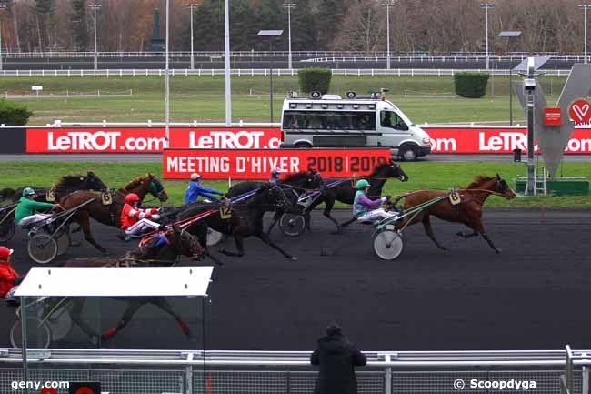 05/12/2018 - Vincennes - Prix de la Ville de Royan : Arrivée
