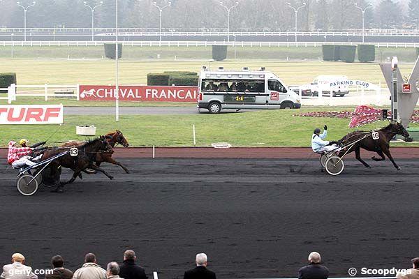 29/01/2008 - Vincennes - Prix de Vittel : Arrivée