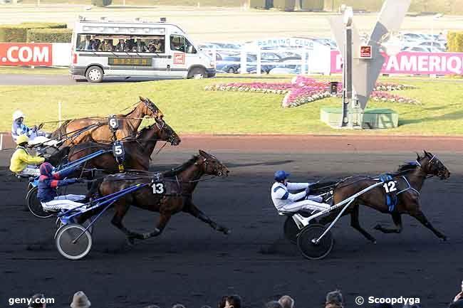 31/01/2009 - Vincennes - Prix de Sauternes : Arrivée