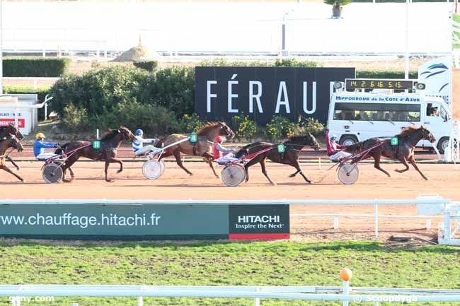 10/01/2014 - Cagnes-sur-Mer - Prix de la Côte d'Azur - Prix GENYcourses : Arrivée