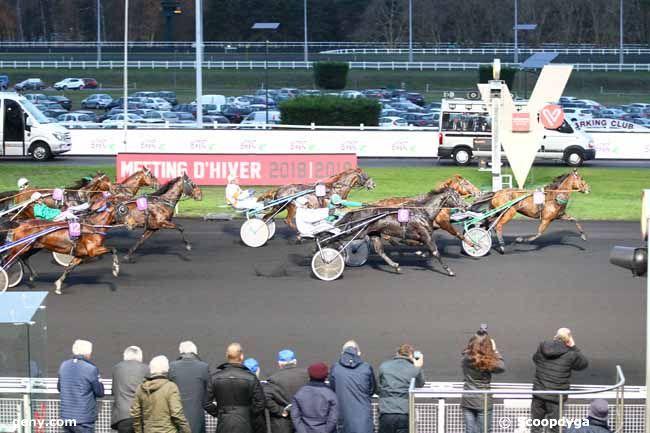 02/12/2018 - Vincennes - Le Trot Open des Régions - 4 Ans : Arrivée