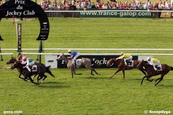 01/06/2008 - Chantilly - Prix du Jockey Club : Arrivée