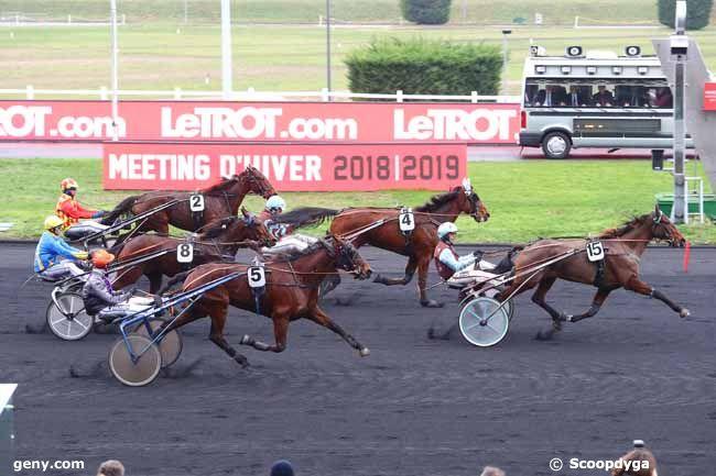 11/01/2019 - Vincennes - Prix d'Evian : Result