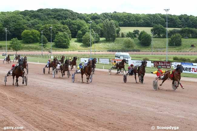 07/06/2017 - Laval - Grand National du Trot Paris-Turf : Arrivée
