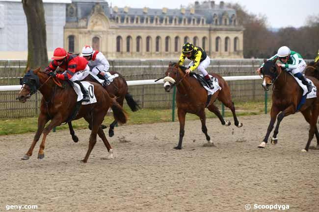 12/01/2019 - Chantilly - Prix de la Porte des Marchands : Result