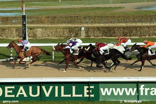 07/01/2011 - Deauville - Prix du Pays d'Ouche : Arrivée