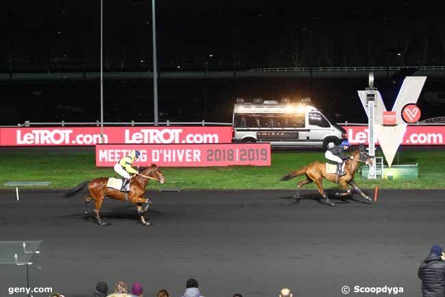 06/01/2019 - Vincennes - Prix de Nalliers : Arrivée