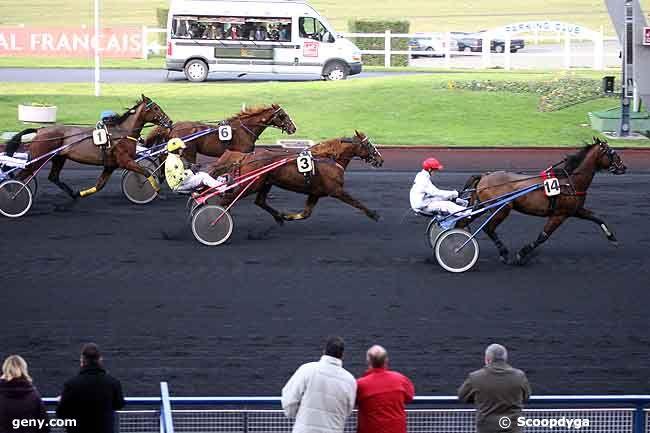 10/12/2008 - Vincennes - Prix Poitou-Charentes : Arrivée