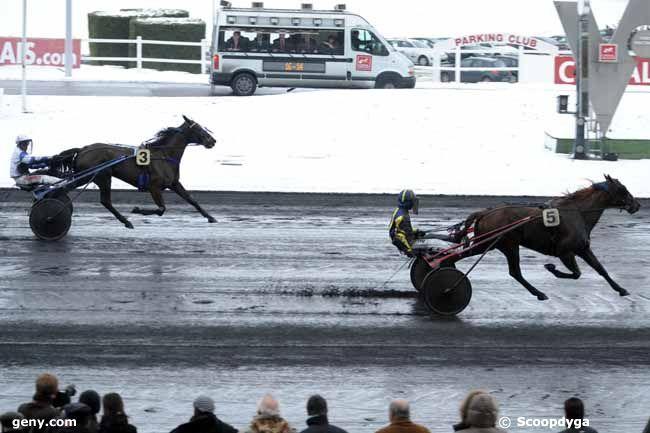 20/12/2009 - Vincennes - Prix d'Amboise : Arrivée