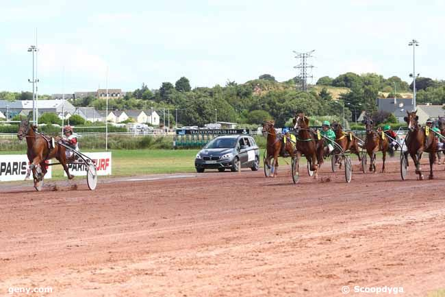 08/08/2018 - Saint-Malo - Grand National du Trot Paris-Turf : Arrivée