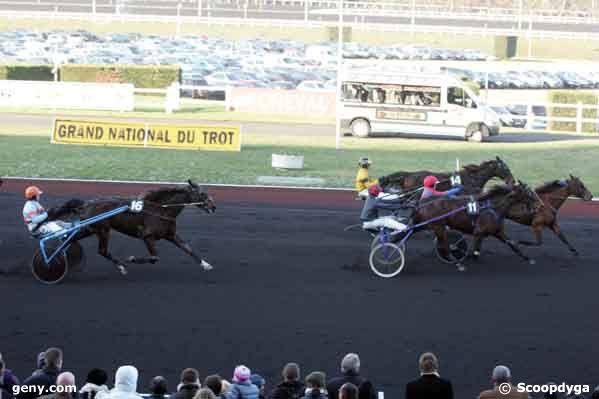 16/12/2007 - Vincennes - Prix d'Amboise : Arrivée