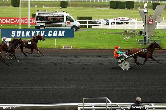 06/12/2011 - Vincennes - Prix de Saint-Jean-de-Monts : Arrivée