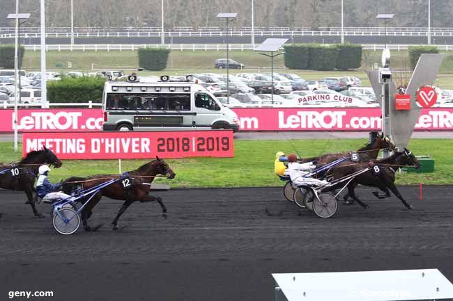 30/12/2018 - Vincennes - Prix de Meulan : Arrivée