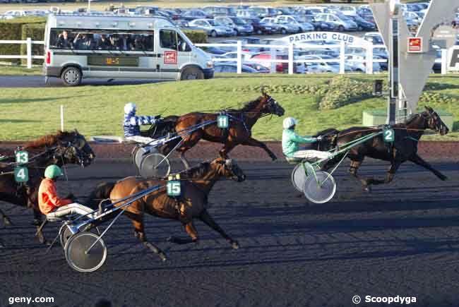 18/01/2009 - Vincennes - Prix de Brest : Arrivée
