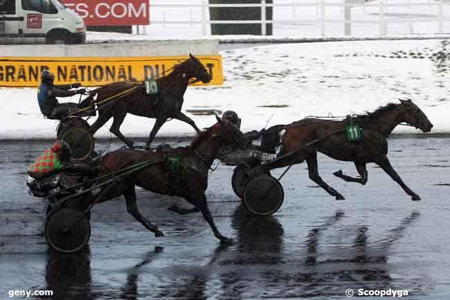19/12/2010 - Vincennes - Coupe Inter-Régionale des 4 Ans : Arrivée