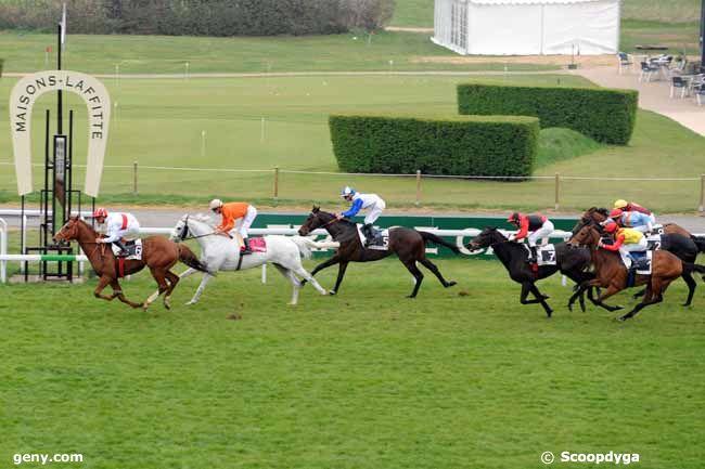05/04/2012 - Maisons-Laffitte - Prix des Ecuries du Château : Arrivée