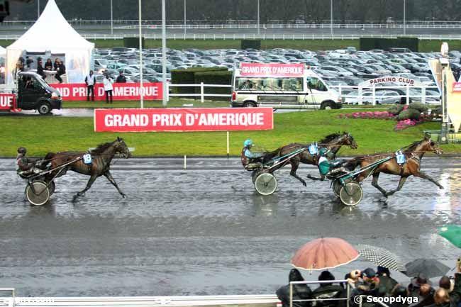 26/01/2014 - Vincennes - Grand Prix d'Amérique : Arrivée