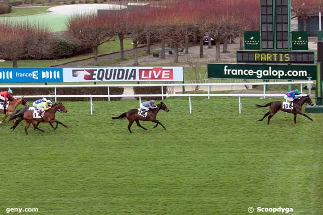 16/03/2013 - Saint-Cloud - Prix du Pays Basque : Arrivée