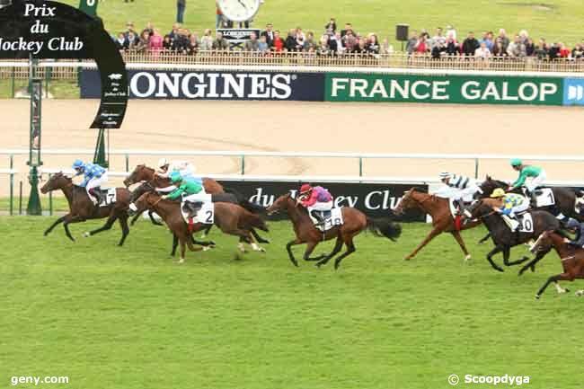 03/06/2012 - Chantilly - Prix du Jockey Club : Arrivée