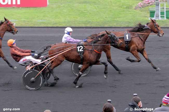 27/01/2015 - Vincennes - Prix de Vittel (gr A) : Arrivée