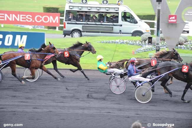 08/11/2012 - Vincennes - Prix Marcel Laurent : Arrivée