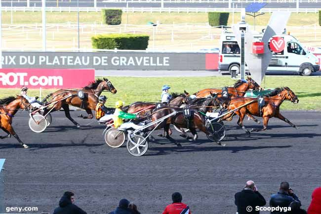 03/03/2018 - Vincennes - Prix du Plateau de Gravelle : Arrivée