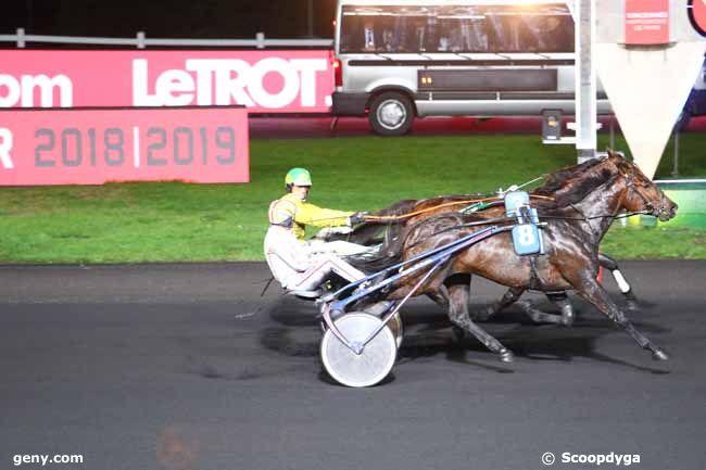 23/12/2018 - Vincennes - Prix de Brive-la-Gaillarde : Arrivée