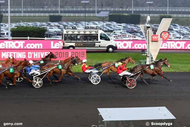 30/12/2018 - Vincennes - Grand Prix de Bourgogne : Arrivée