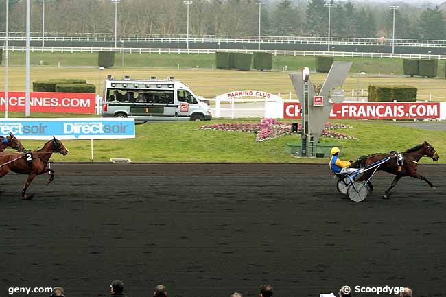 08/02/2010 - Vincennes - Prix des Charentes : Arrivée