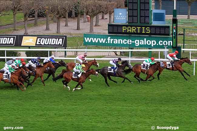 15/03/2011 - Saint-Cloud - Prix du Pays Basque : Arrivée