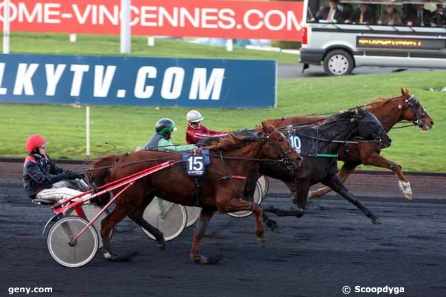 14/12/2011 - Vincennes - Prix Poitou-Charentes : Arrivée