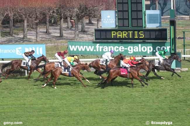 13/03/2012 - Saint-Cloud - Prix du Pays Basque : Arrivée