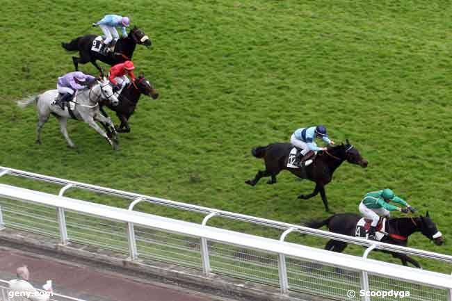 26/04/2010 - Auteuil - Prix Gaston Branère : Arrivée