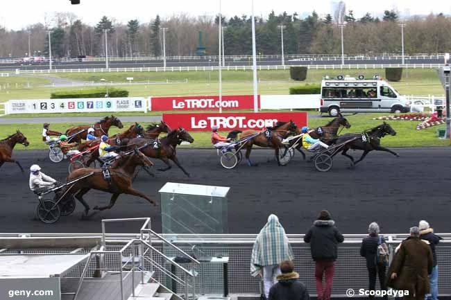 23/02/2017 - Vincennes - Prix du Plateau de Gravelle : Arrivée
