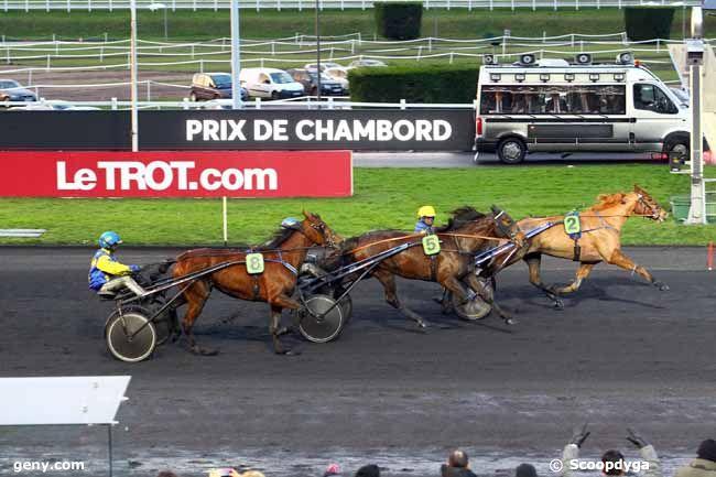 11/02/2018 - Vincennes - Prix de Chambord : Arrivée