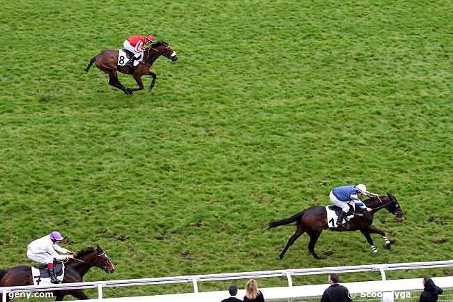 28/04/2012 - Auteuil - Prix Gaston Branère : Arrivée