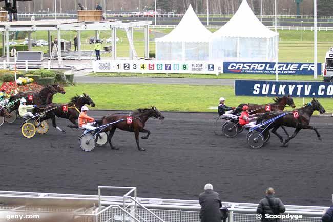 28/01/2014 - Vincennes - Prix de Vittel : Arrivée