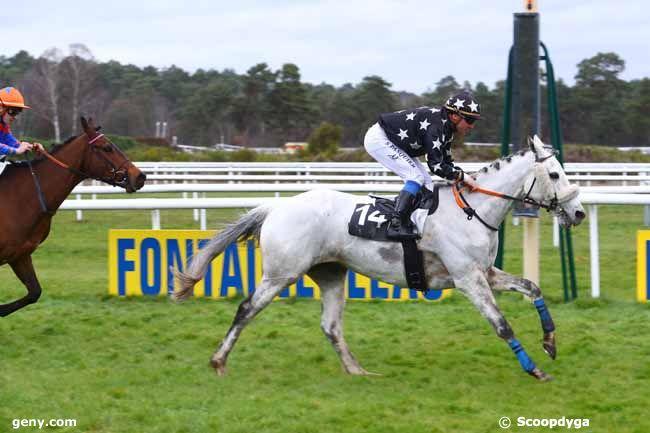 15/03/2019 - Fontainebleau - Prix du Bois de la Commanderie : Arrivée