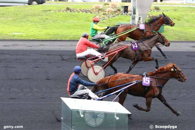 10/01/2017 - Vincennes - Prix de Feneu (gr B) : Arrivée