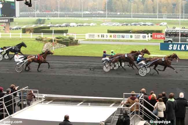 17/11/2012 - Vincennes - Prix de Bretagne : Arrivée