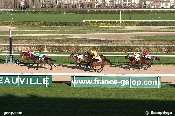 26/12/2008 - Deauville - Prix du Pays d'Ouche : Arrivée