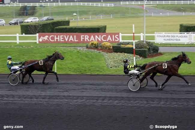 31/12/2009 - Vincennes - Prix de Craon : Arrivée